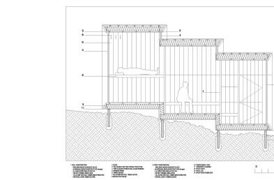 Alpine Shelter details section