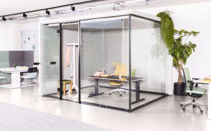 MOXX enclosed workspace