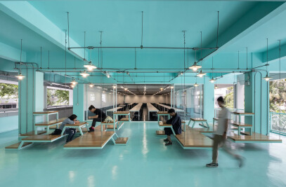 Bangkok University Interior Renovation