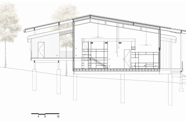 Platform House section