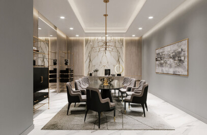 Contemporary Luxury Apartment Design