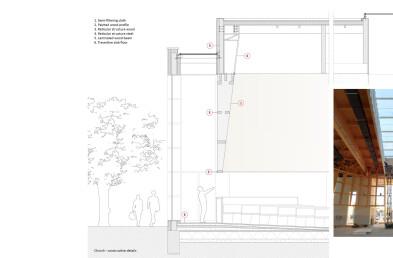 Church construction details