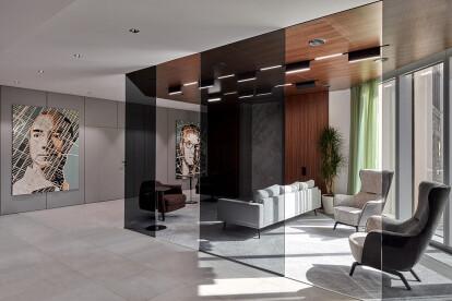 VIP lounge zone