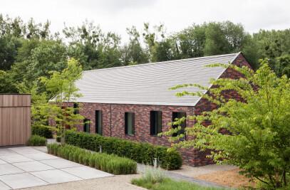 H-shaped farmhouse in Haspengouw