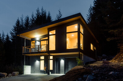 Hyak Cabins – Rendering to Reality