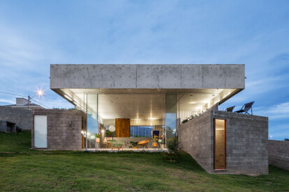 Brazilian House cleverly navigates topography with multi-level volumetric design