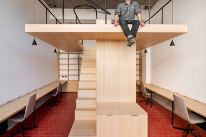 Tiny office in Oslo demonstrates creative use of small space