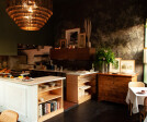"""The chef requested that the space feel """"like an exclusive dinner party, with a strong sense of inclusiveness and home."""""""