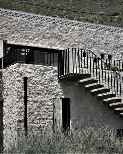 Olive Tree Stone House in Peloponnese