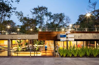 Nova área de lazer do Grande Hotel Senac São Pedro