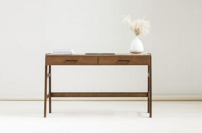 Desk mid century with drawers Frisk