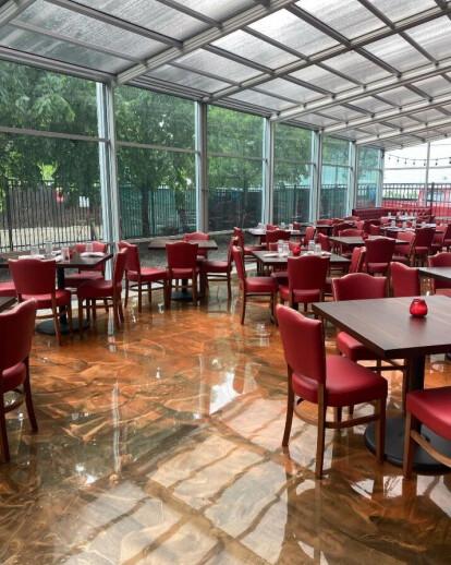 Il Culaccino Restaurant Patio Enclosure