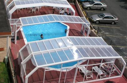 Quality Inn Pool Enclosure