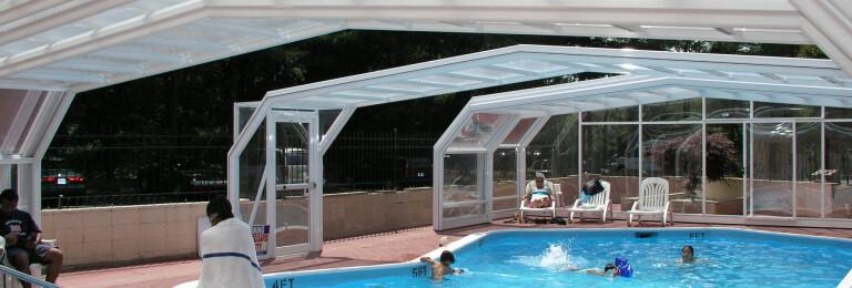 Quality Inn Hotel Pool Enclosure