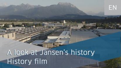 A look at Jansen's history - history film   Jansen AG
