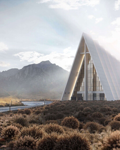 Architectural Design Visualization for a Church