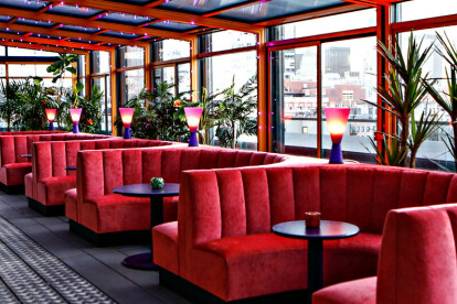 Make Believe at Sixty LES Retractable Glass Roof