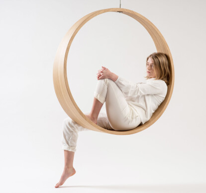 SWING model N.2 rocking chair