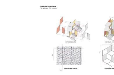 LANE 189 facade component details