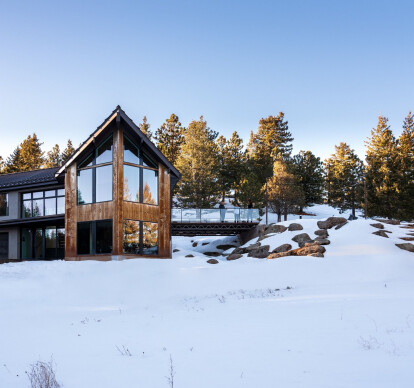 Mountain Modern Cabin