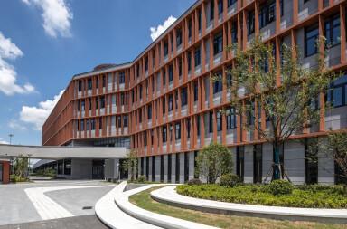 Shanghai Thomas School facade details