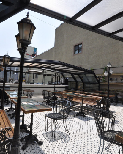 Hotel Chantelle Retractable Roof