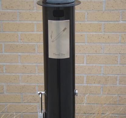 Smoking Post Bollard
