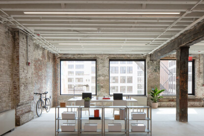 Worrell Yeung Architecture complete adaptive reuse project celebrating age-old Brooklyn factories