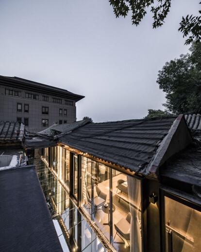 The Mirror Courtyard in Baochao Hutong