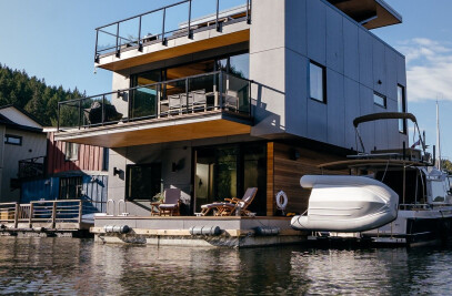 Maple Bay Floating Home