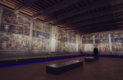 The Hall of the Months at Palazzo Schifanoia