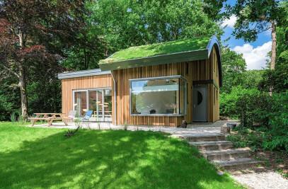 Modern biobased holiday home