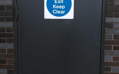 Clark Door Single Leaf Steel Swing Door