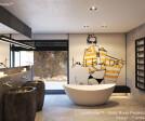 Natural Stone Pedestal Sinks Bathroom