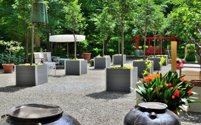 Large Mariner Planters for trees