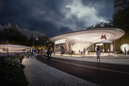 Zaha Hadid Architects win competition to build new station on Moscow's renowned metro system