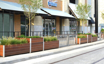 Mariner Modular Planter for Streetscapes