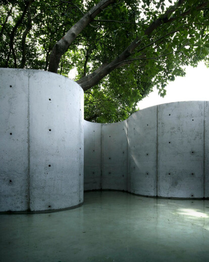 TAOA Architects explore the intersection of art and architecture with 'Void Garden'