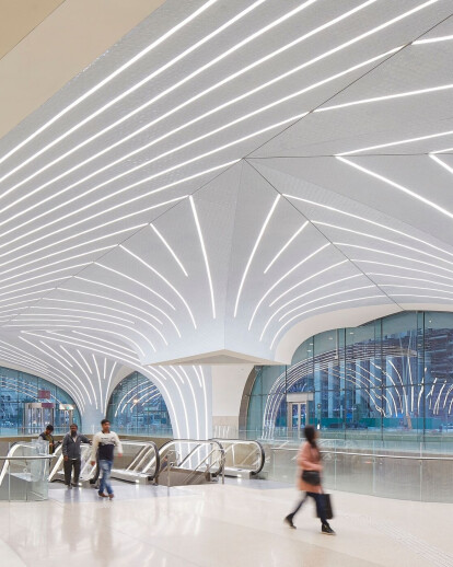UNStudio's brand manual for Doha Metro Network orchestrates first phase completion of 37 stations