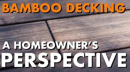 Why did this Homeowner choose a Bamboo Deck? - TimberTips