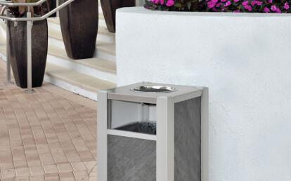 Audubon Ash Trash Commercial  Receptacle