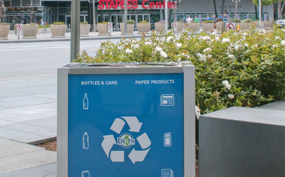 Audubon Commercial Combination Trash and Recycling Receptacle