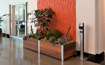 Mariner Commercial Indoor Multi-Section Planter