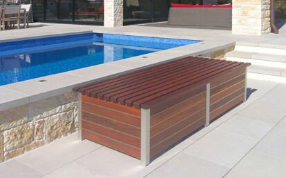 The Perfect Deck Box Bench