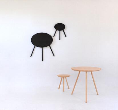 2D stool & table