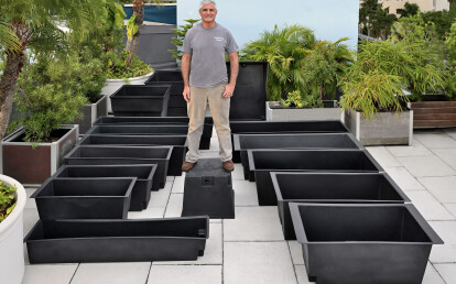 Commercial Waterproof Planter Liners with Advanced Drainage