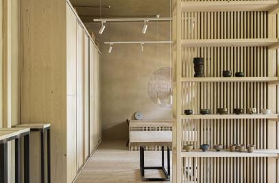 Room for ceramics