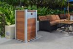 Custom Weatherproof Restaurant Trash or Recycling Receptacle