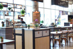 Custom Commercial Restaurant  Trash and Recycling Receptacles