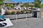 Mariner Commercial,  no-maintenance Multi-section Restaurant Planter